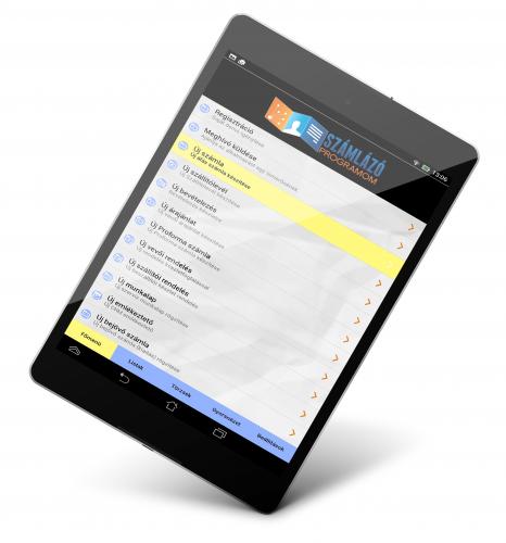 számlázó program tablet