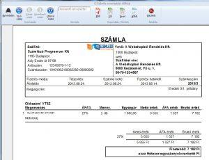 szamlazorendszer-számlakép